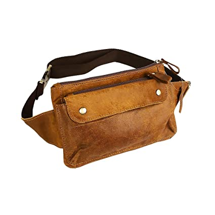 e58bbd76f63 Petzilla Genuine Leather Waist Bag Fanny Pack