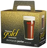 Muntons Gold 40 Pint Beerkit, Docklands Porter, 102-Ounce Box