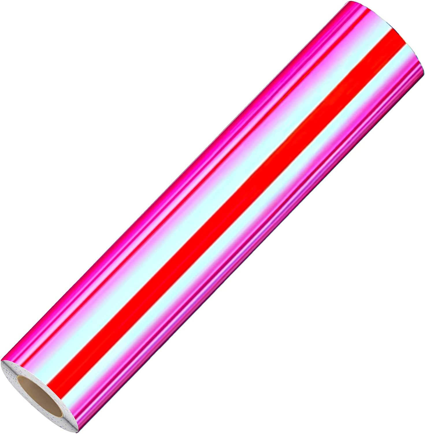 Lya Vinyl Permanent Holographic Opal Craft Vinyl Roll for Home Decor, Logo, Letters, Banners, Car Exteriors, Glass Mirrors, Scrapbooking, Sign Plotters