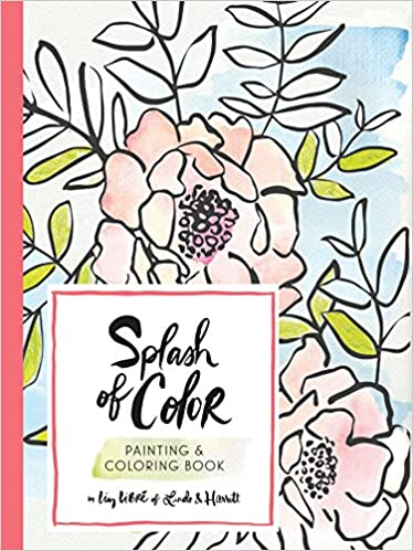 Amazon.com: Splash of Color Painting & Coloring Book ...
