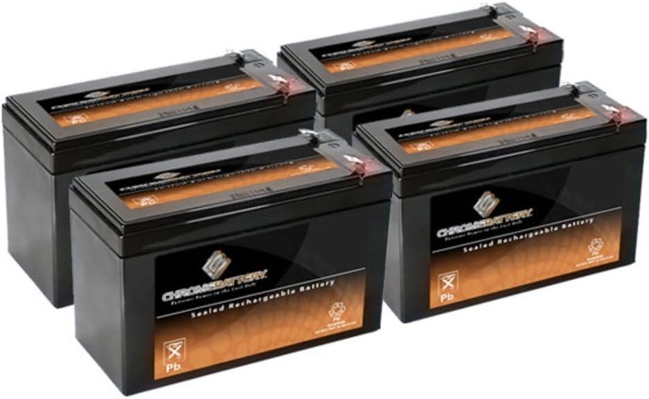 12V 7AH SLA Battery Replaces gp1272 np7-12 bp7-12 npw36-12 ps-1270 ub1280 6 Pack
