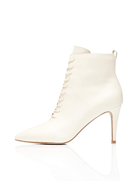 sparen 75% Damenschuhe Overknee Stiefel rot Stiletto