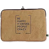 """Funda para Laptop 13"""" Be Happy hecho con papel reutilizado/reciclado"""