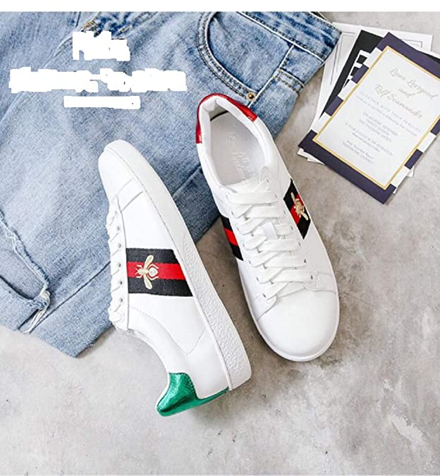 Amazon.com: Preslovemm Lovers Moda Clásica Bee Blanco ...