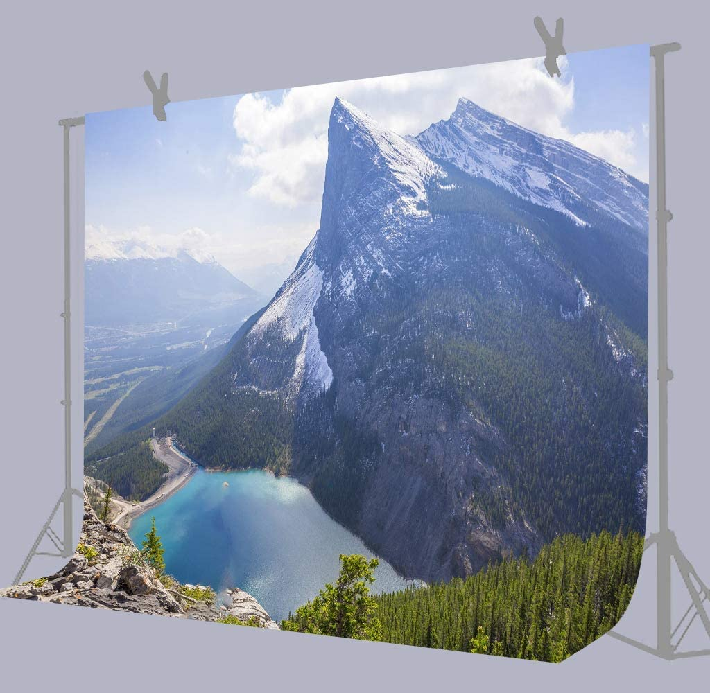 10x8ft Nature Mountains Photography Background Photo Backdrop Props Murals LYFU621