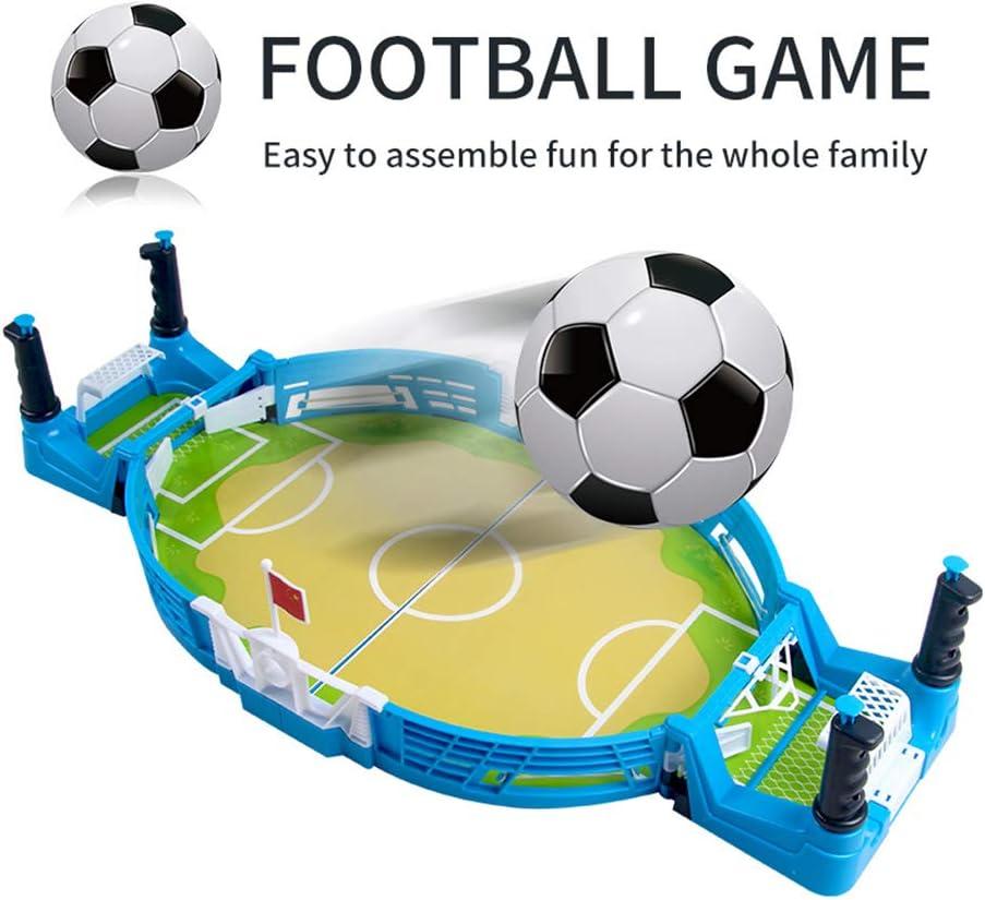 Liu Yu·casa creativa Mini Juego de fútbol de Mesa, Juegos de Mesa de fútbol portátiles, Juguetes de fútbol de Entrenamiento, Juguetes Deportivos de Oficina ...