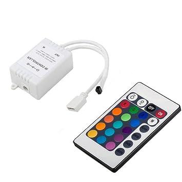 newest 74e4e 4f543 IR Remote Control Controller for 5050 SMD RGB LED Strip