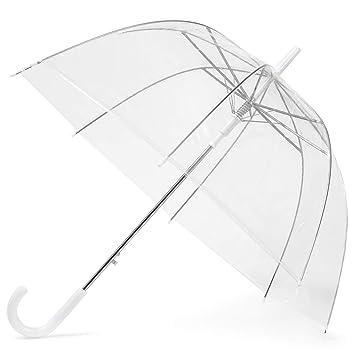 San Francisco 2b912 9180b GadHome Parapluie Transparent | Grand parapluie transparent de 85 cm pour  femmes, Mariage, Photoshoot de mariée | Parapluie pliable dames translucide  ...