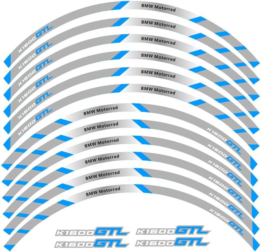 Psler Motorrad Felgenrandaufkleber Rim Stripes Aufkleber Für K1600gtl Auto
