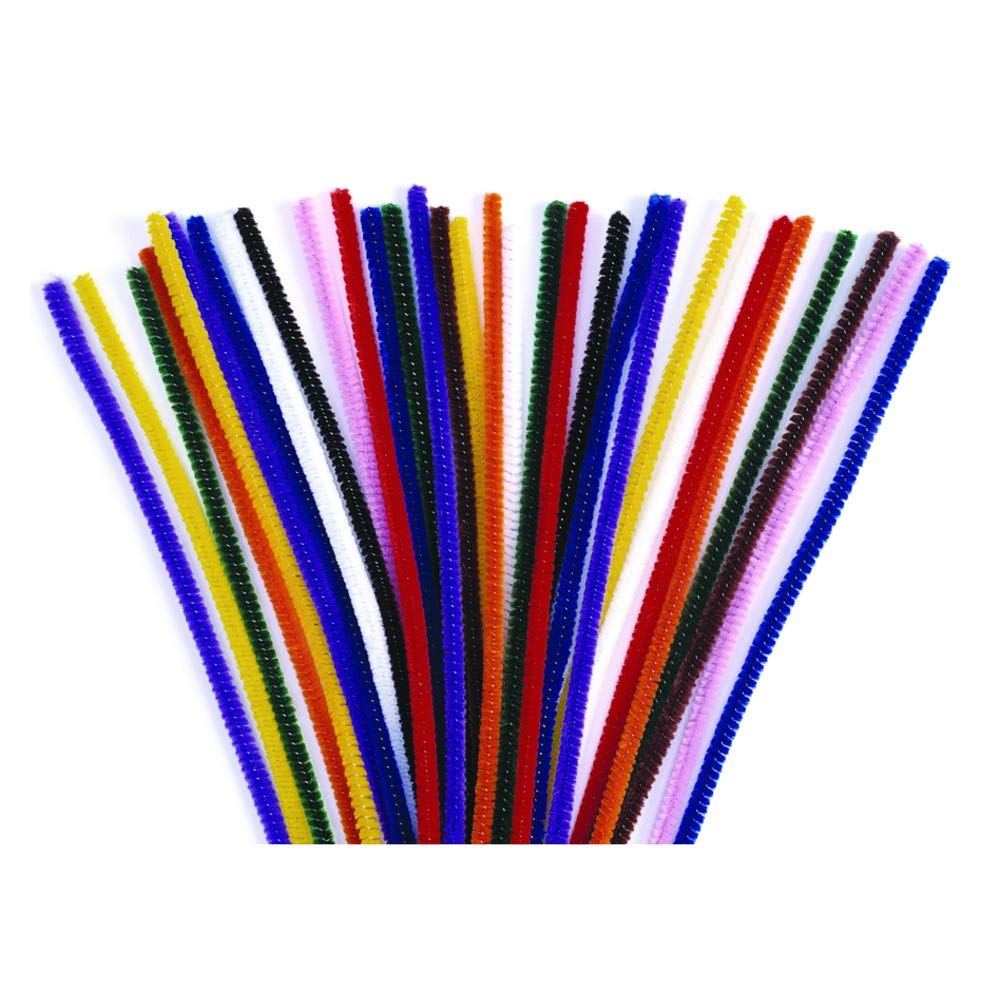 Colorations Pipe Cleaners, Assorted Colors - Pack of 1,000 (Item # PIPSET)