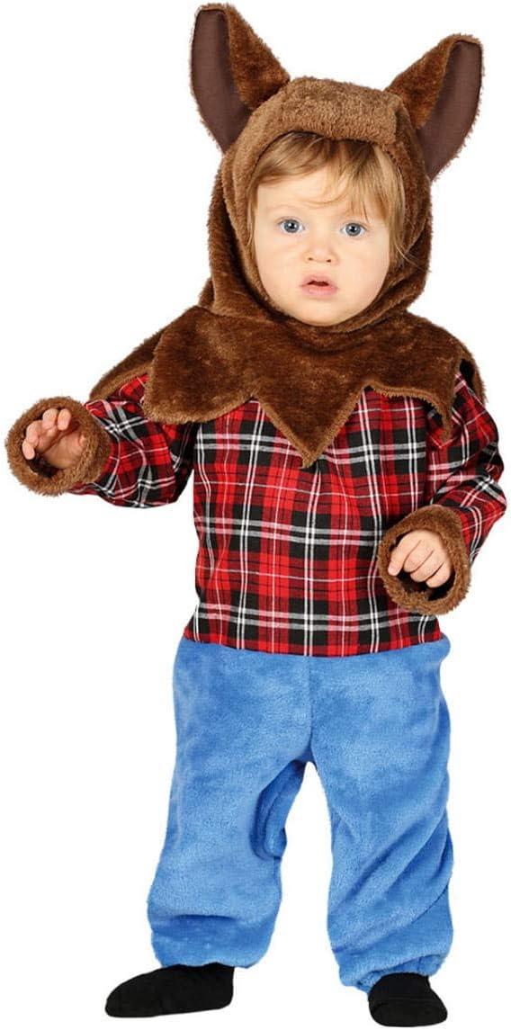 Horror-Shop Disfraz De Hombre Lobo Infantil 6 -12 Monate: Amazon ...