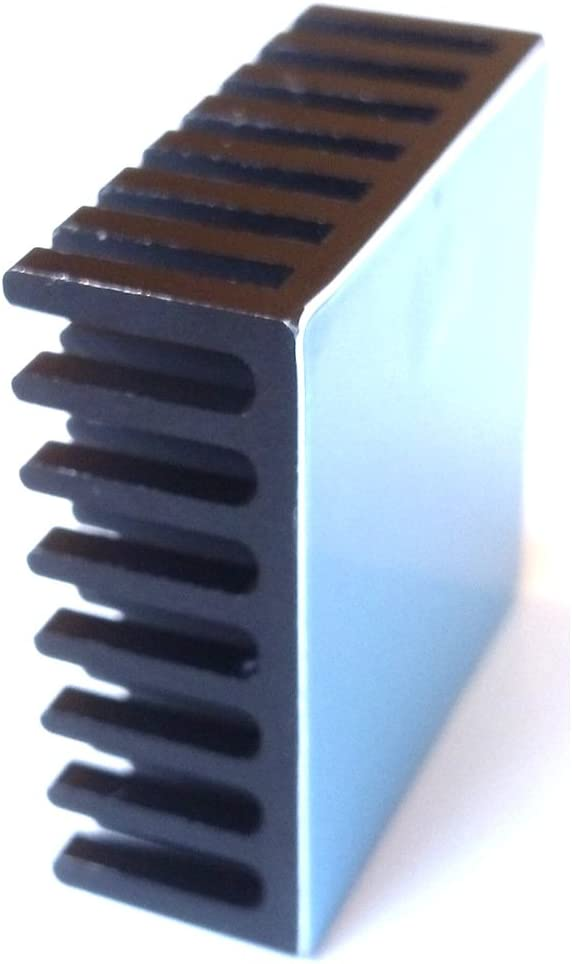 Mini Cooler Heat Sink for Cooling VRM Stepper Driver MOSFET VRam Regulators Copper 9mmx9mmx4mm 3M 8810 Thermal Conductive Adhesive Tape Easycargo 10pcs 9mm Copper Heatsink Kit