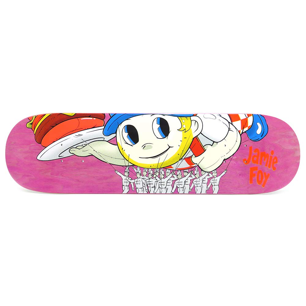 DEATHWISH DECK デスウィッシュ デッキ JAMIE FOY BIG BOY PARADE ピンク STAIN 8.25 スケートボード スケボー SKATEBOARD