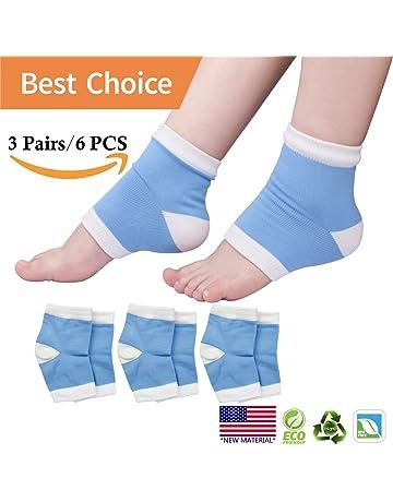 Calcetines humectantes en gel, calcetines en el talón, calcetines abiertos en gel para el