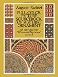 Full-Color Picture Sourcebook of Historic Ornament, Auguste Racinet, 0486260968
