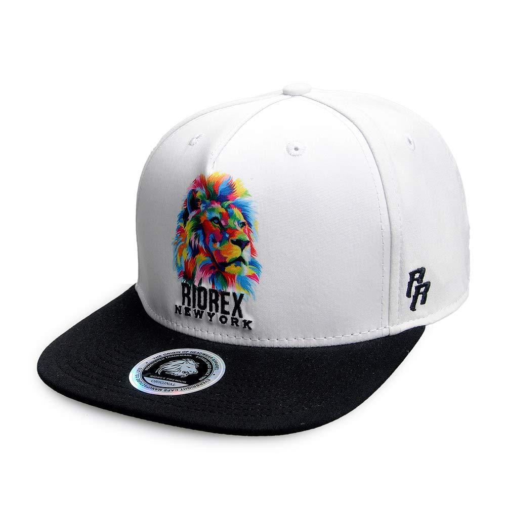 Riorex Hip Hop Gorras de Moda Animal Bordado Gorra de béisbol para Hombres  Ajustable Correa de 0fc9fc67853