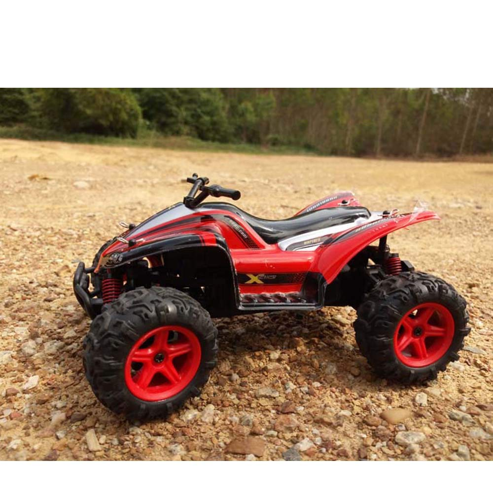 Choosebuy RC Car, SUBOTECH 25MPH 40km/h 1:24 High Speed Scale Off Road Car (Red) by Choosebuy (Image #3)