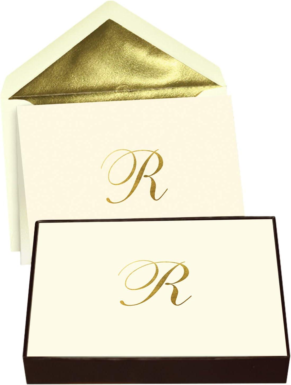 Beige Monogram G note cards set of 8