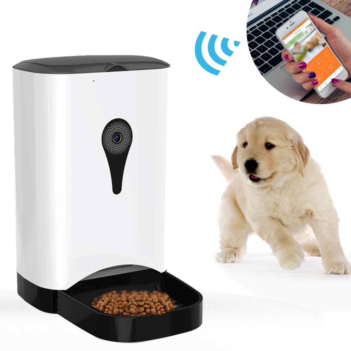 china pet dog automatic cat control ycreysqjnthn remote and for camera supply advanced with feeding feeder productimage