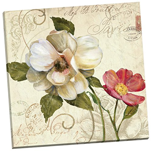 Portfolio Canvas Decor Fleurs De Paris 1 by E. Franklin Wall Art