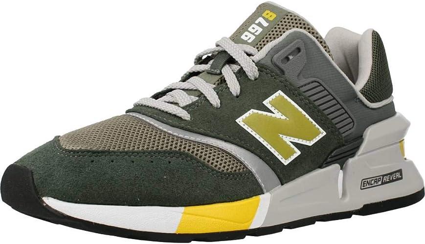 Electropositivo acoso pimienta  New Balance Men's Ms997lks Running Shoe: Amazon.co.uk: Shoes & Bags