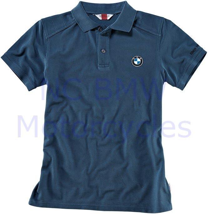 BMW Motorrad motocicletas logotipo Polo Hombres camiseta Azul