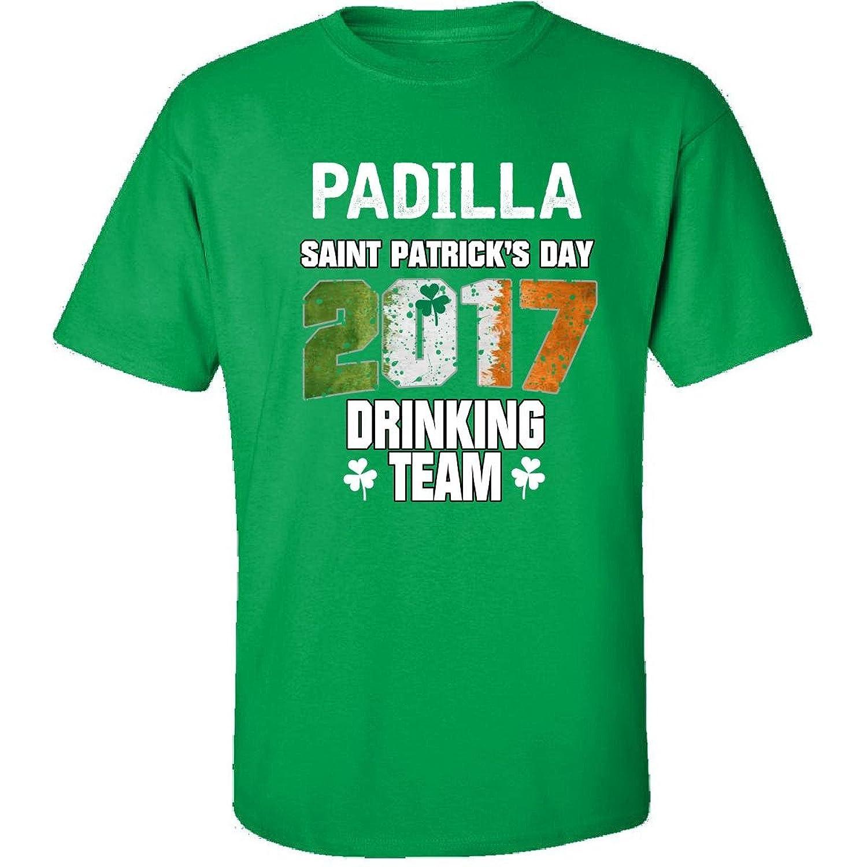 Padilla Irish St Patricks Day 2017 Drinking Team - Adult Shirt