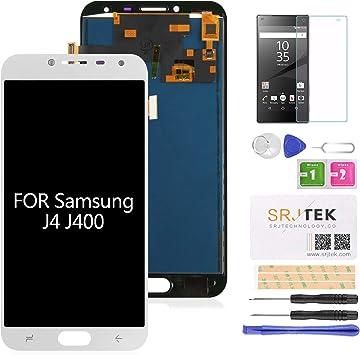 srjtek Pantalla LCD de repuesto para Samsung Galaxy J4 2018 J400 ...