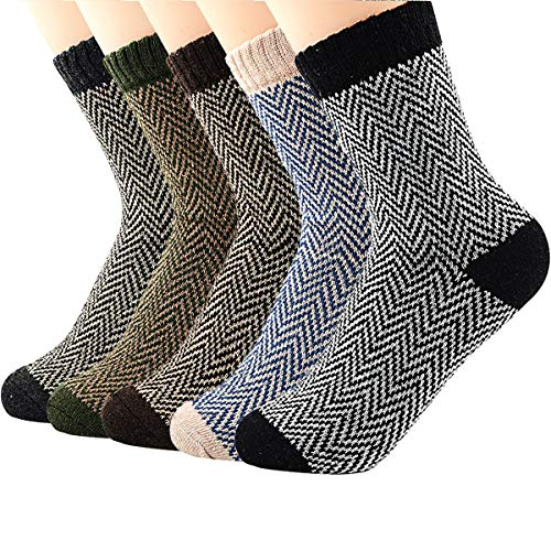 Zando Womens Cabin Wool Warm Cozy Casual Thin Mid Calf for sale  Delivered anywhere in USA