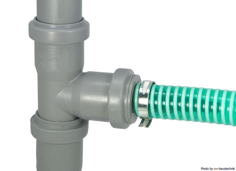gris DN 50, para tuber/ías de 8 a 25 mm de di/ámetro Adaptador para tuber/ías Airfit