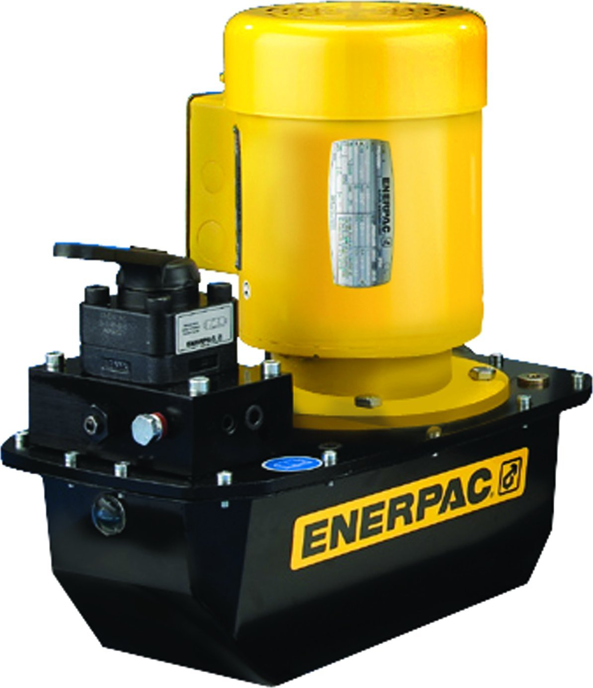 Enerpac ZE3204MB Electric Induction Pump with VM32 Valve Standard 115 Volt and 4 Liters Usable Oil Capacity