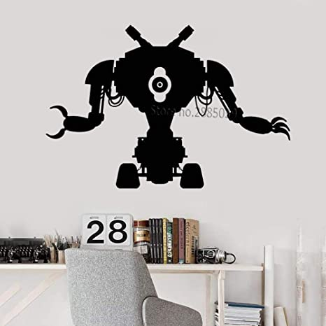 zhuziji Robot clásico Juguete Tatuajes de Pared Máquina ...