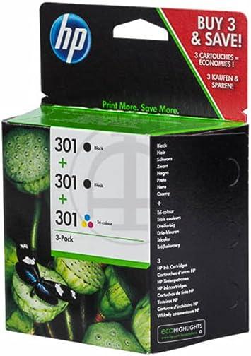 HP Original – HP – Hewlett Packard Deskjet 2541 (301/E5Y87EE) – 3 ...