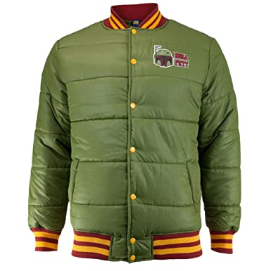 ae3ca2a454d Star Wars Men's Boba Fett Quilted Jacket at Amazon Men's Clothing store: