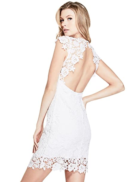 low priced f50a6 ac846 GUESS Women's Joya Lace Dress: Amazon.ca: Clothing & Accessories