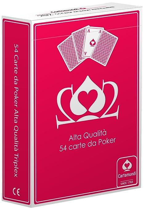 Cartamundi Poker Juego 54 Cartas Poker, Juego de Cartas ...