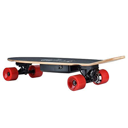 Alouette Electric Skateboard 29 Inches Maple,4.4AH Battery,350W Hub Motor,1-year Warranty, Remote Control