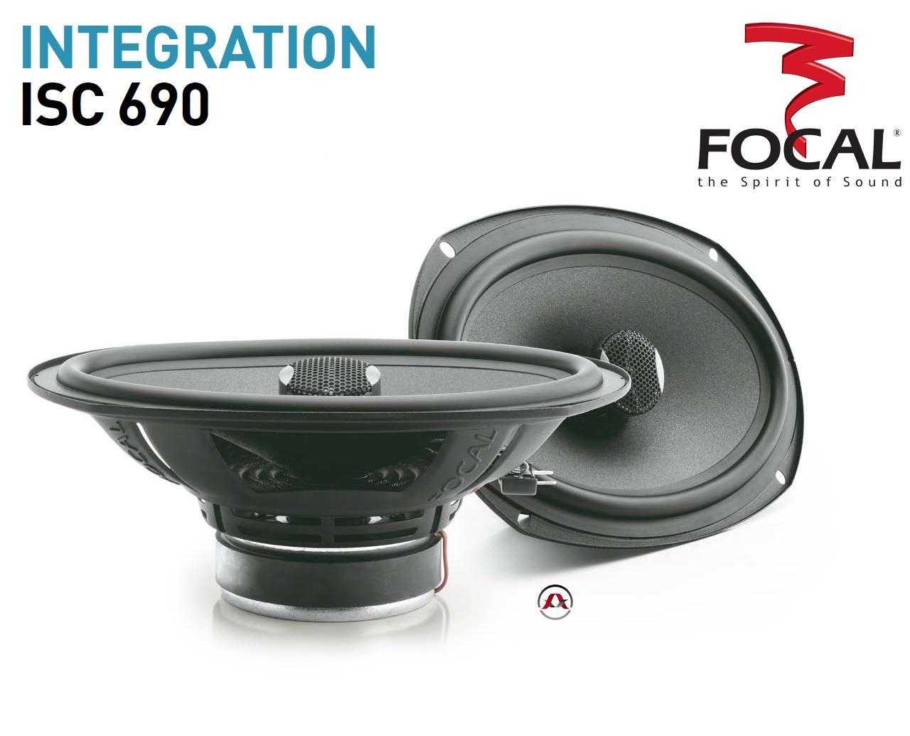 Focal Integration ISC 690 6' x 9' 2-way car speakers Focal Press KitISC690