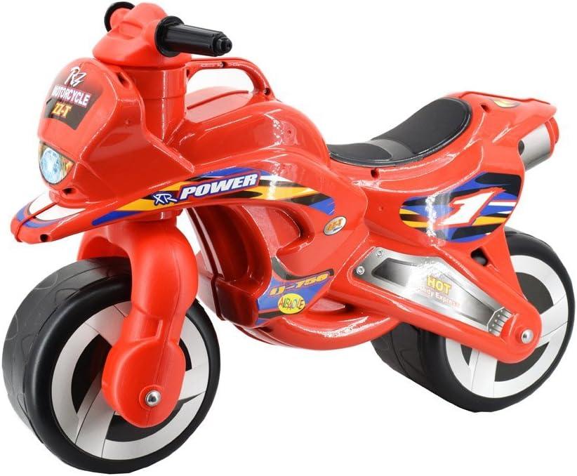 deAO Ride On Balance - Motocicleta para niños con diseño Divertido de Corredor