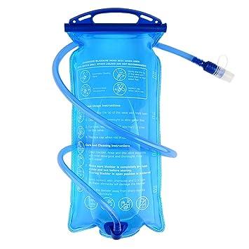 TXJ Bolsa de Agua Portátil de 2 Litro para Ciclismo Mochilas: Amazon.es: Deportes y aire libre