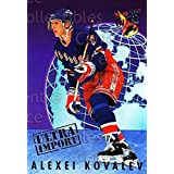 Alexei Kovalev Hockey Card 1992-93 Ultra Import #10 Alexei Kovalev