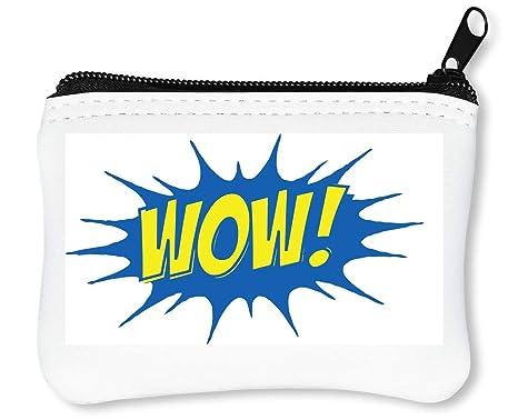 Wow Splash Pop Billetera con Cremallera Monedero Caratera
