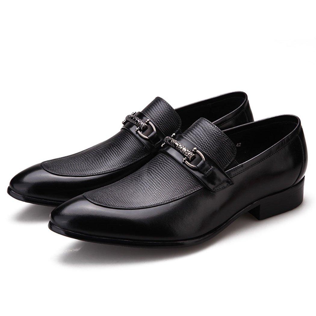 GAOLIXIA Herren Echtes Leder Kleid Schuhe Formale Geschäft Casual Schuhe Werkzeug Schuhe Arbeitsschuhe Hochzeit Bankett Schuhe Schwarz Burgund Große Größe