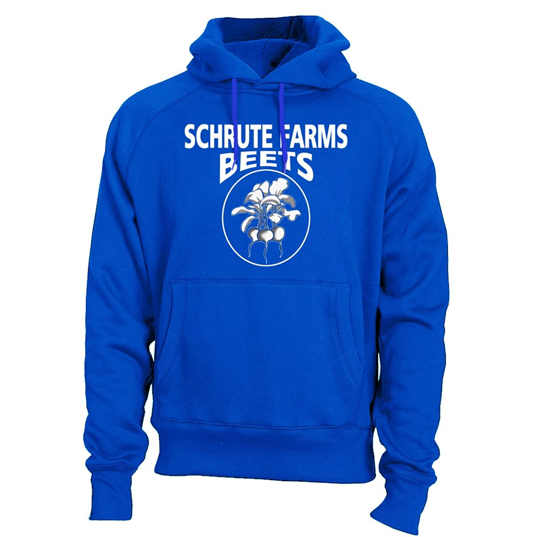Fantastic Tees Schrute Farms Beets Adult Hoodie Sweatshirt