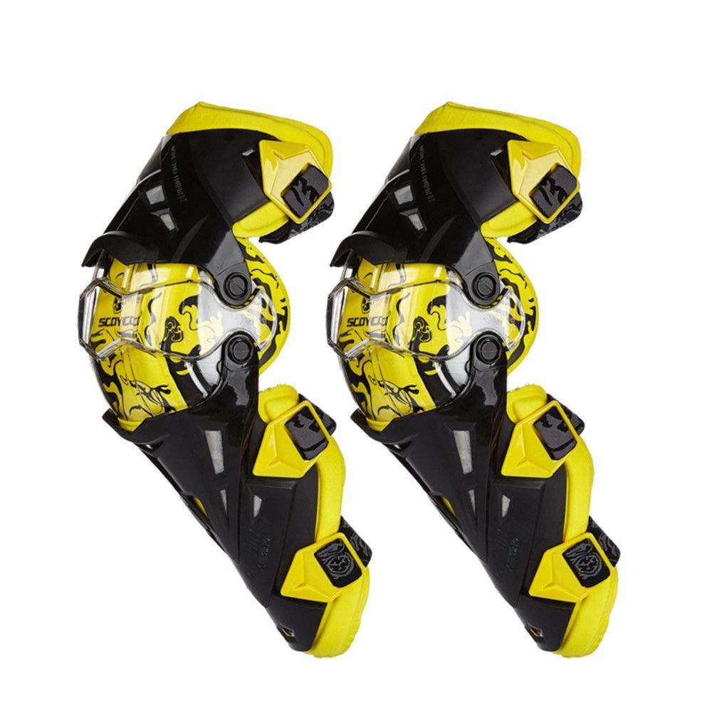 バイクファッション/プロテクター/ニーアーマー/ニーガード/ジャケット/Motorcycle Knee Pads Protectors Guards Armor Motocross Kneepad Protective Gear B07NPBM37K