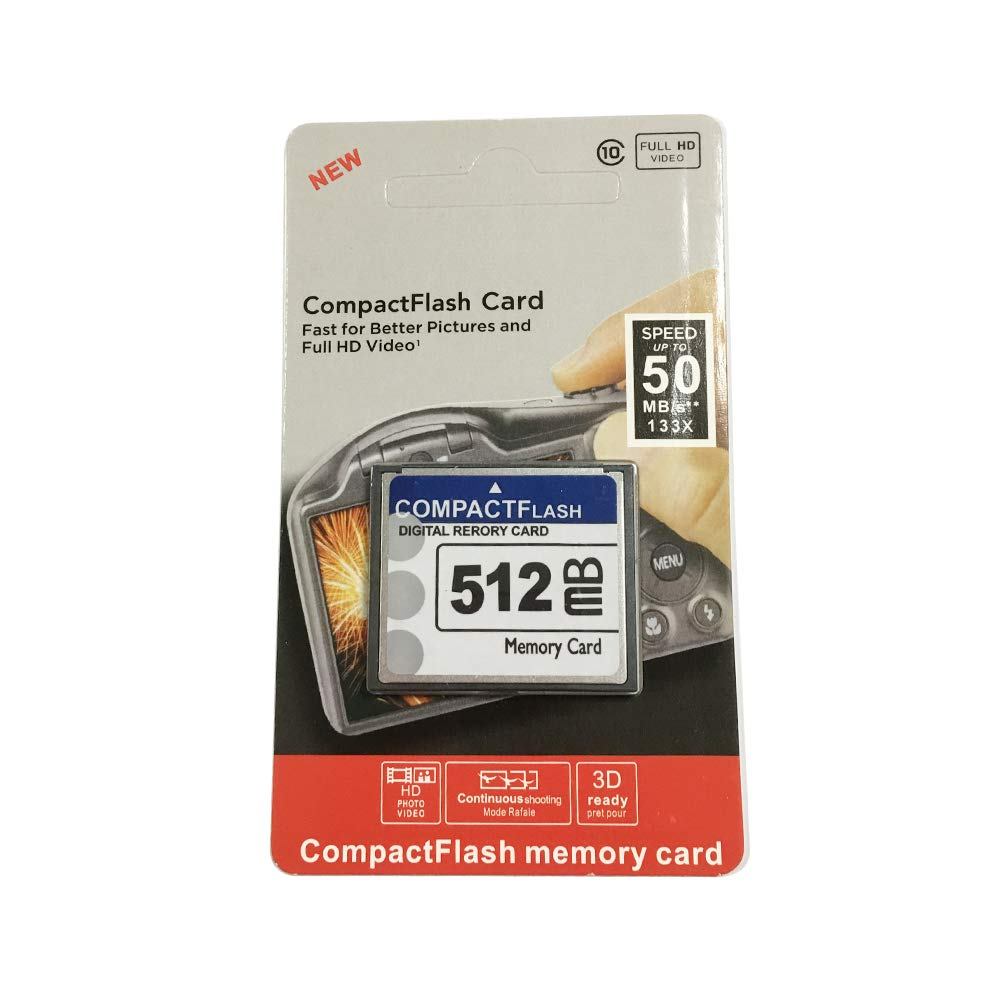 Bodawei CF card 512M Compact Flash Memory Card 512 MB CompactFlash Card For Canon Camera CARDs