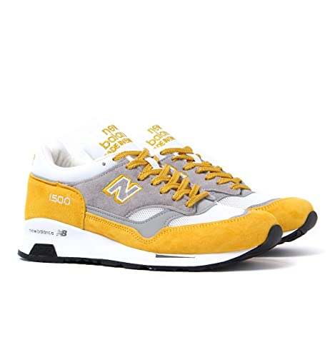 New Balance M1500 Yellow Suede, YG yellow-grey, 7