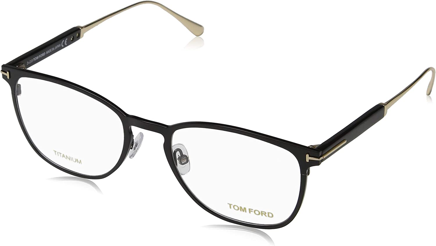 TOM FORD Eyeglasses FT5483 001 Shiny Black