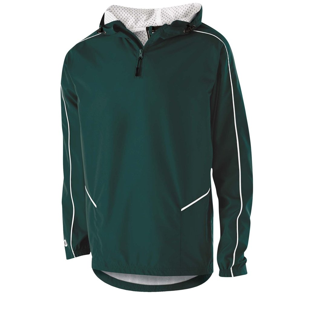 Holloway Wizard Adult Pullover (X-Large, Dark Green/White) by Holloway