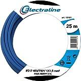 Electraline 13092Cable unipolar FS17, sección 1x 1.5mm², Azul, 25m